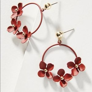 ANTHROPOLOGIE | Zenzii Buttercup Drop Earrings